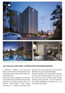 Sobha Arena The Square And Pebble Court Brochure 4