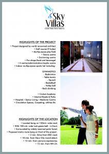Aarcity Sky Villas Brochure 3