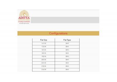Aditya Capitol Heights Brochure 3