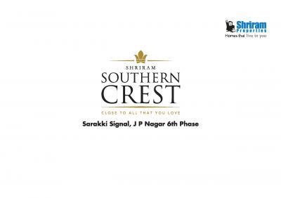 Shriram Southern Crest Brochure 1