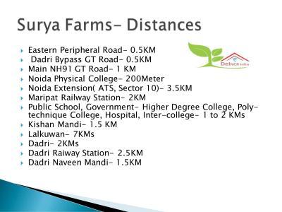 Del NCR Surya Chaman Enclave Plots Brochure 5