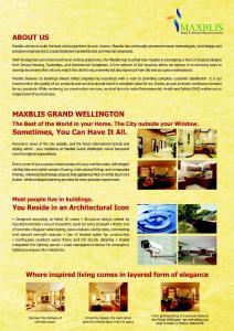 Maxblis Grand Wellington Brochure 2