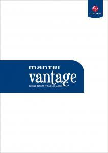 Mantri Vantage Brochure 1