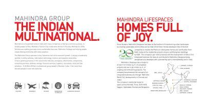 Mahindra Happinest Block B Brochure 2
